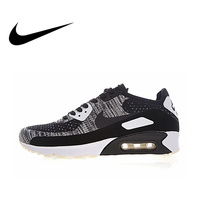 Original Authentic Nike Air Max 90 Ultra 2.0 Flyknit Men's Running Shoes Sneakers Sport Outdoor Good Quality Comfortable Classic