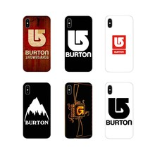 popular Burton Snowboard For Samsung Galaxy S4 S5 MINI S6 S7 edge S8 S9 S10 Plus Note 3 4 5 8 9 Accessories Phone Shell Covers(China)