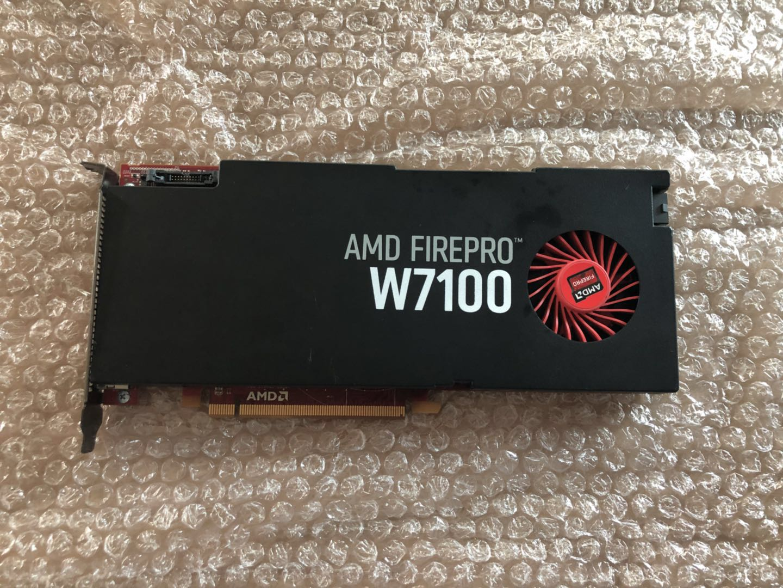 Leadtek original AMD Firepro W7100 8GB high-end graphics card Multi-screen 4K(China)
