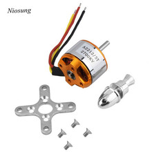Niosung A2212 KV2700 Brushless Electric Motor for RC Fixed Wing 4 Axis Multicopter