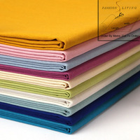 140cm Wide Pure Natural Linen Blend Fabric Solid Colored Linen Many Color Green Pink Blue White