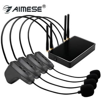 wm07 Four-headed wireless microphone U-segment wireless microphone show