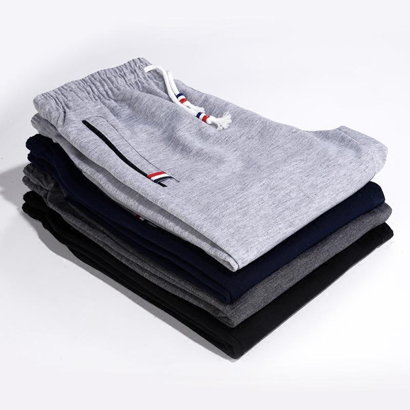 Мужские спортивные штаны для бега на открытом воздухе, джоггеры, прямые цилиндрические спортивные брюки для активного отдыха, тренировочны...