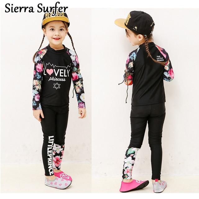 dab630987ba Special Price Children Swimwear Bikini Swimming Suits For Children'S Cute Kids  Swimsuits Girls And Boys Long