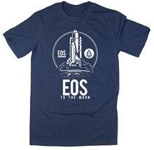 EOS To The Moon T-Shirt - BTC $EOS Bitcoin Crypto - 6 colours New T Shirts Funny Tops Tee New Unisex Funny Tops Basic Models printio crypto
