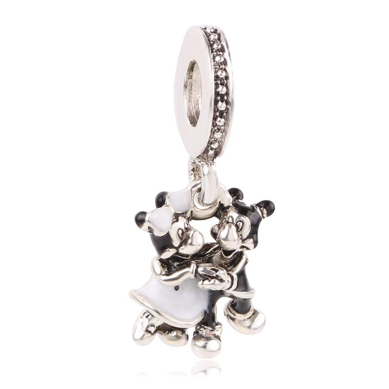 Новинка,,, бусинка из ленты, Микки Маус, сказка, Дамбо, любовь, шарм, подходит для Пандоры, браслет, ожерелье, сделай сам, женское ювелирное изделие, подарок - Цвет: K216