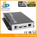 DHL Frete Grátis H.264 HD Encoder HDMI para IPTV, IP Codificador H.264 Servidor IPTV RTMP Codificador/UDP de Áudio e Vídeo HDMI para IP