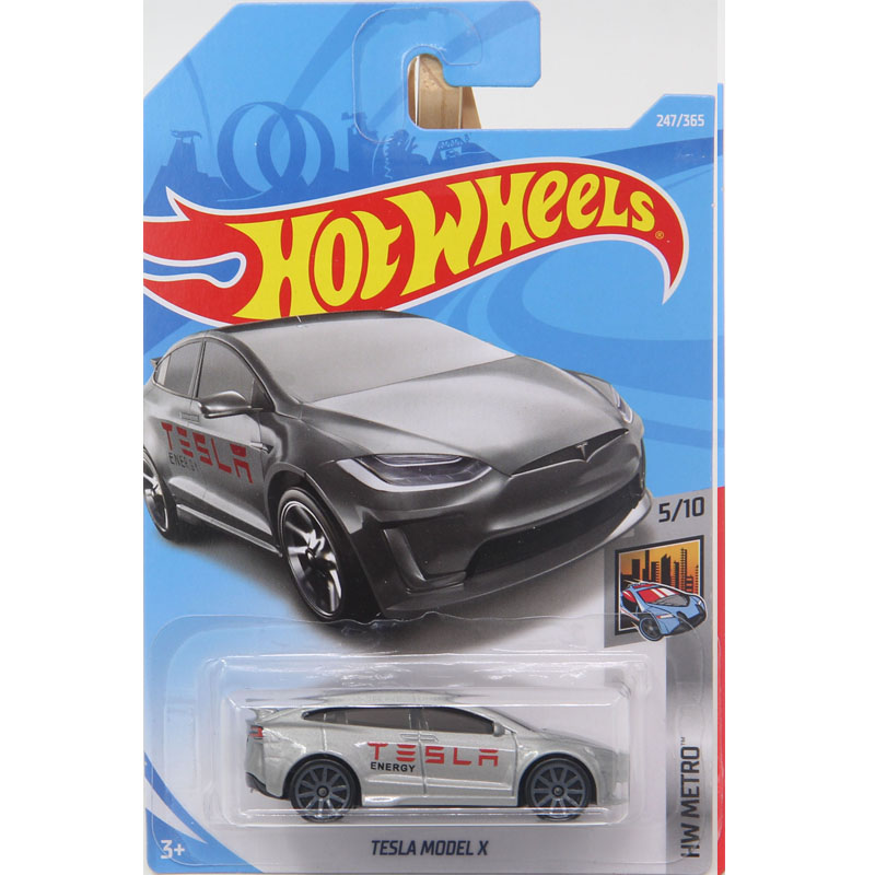 New Arrivals 2018 Hot Wheels 1:64 Tesla Model X Models Collection Kids Toys Vehicle For Children hot cars 247