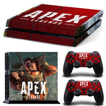 Hot Game APEX Legends PS4 Skin Sticker Decal For PlayStation 4 Console and 2 Controllers PS4 Skins Sticker Decal Kids Toys Gift(China)