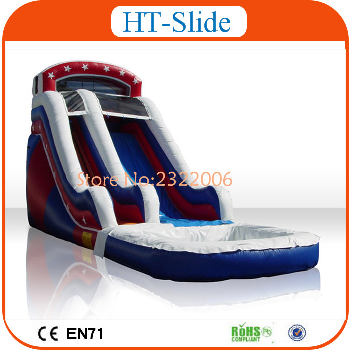 Inflatable Water Slide China: New Design China Cheap Inflatable Pool Slide Used