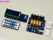 GZLOZONE مضخم صوت PGA2311 ، 4 اتجاهات ، جهاز تحكم عن بعد في مستوى الصوت