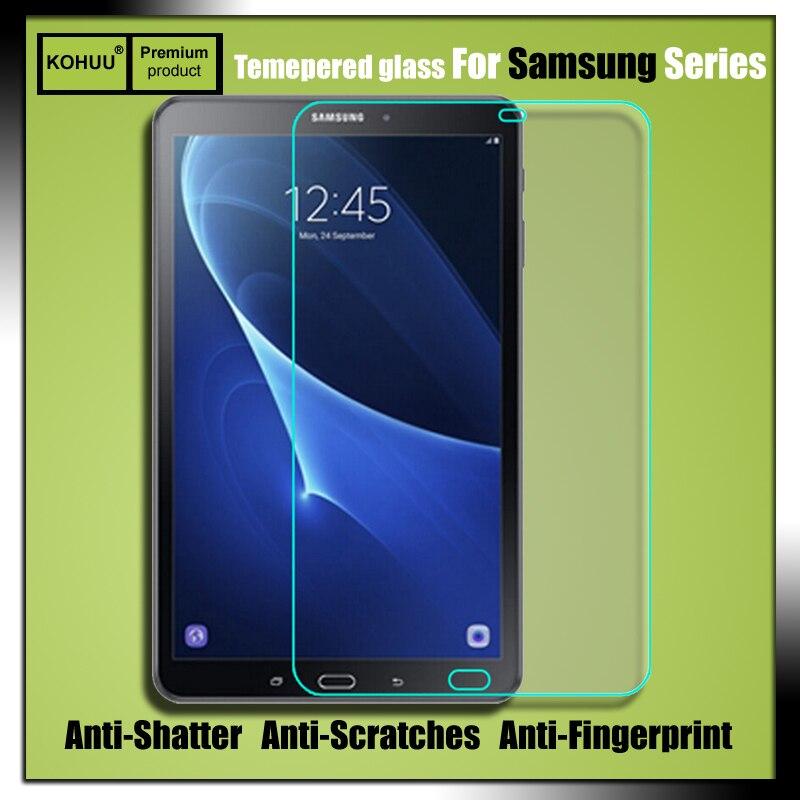 Prime anti-déflagrant 2.5d 9 h hd trempé protecteur d'écran en verre film pour samsung galaxy tab a6 10.1 t580n t580 sm-t585c