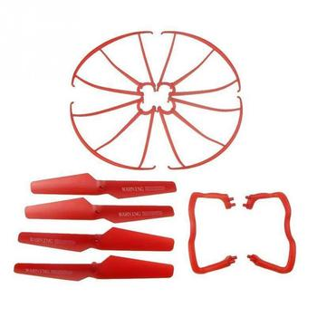 Lightweight Drone Accessories 4 pcs Blade/Tripod/Protection ring Main Propeller Replacement Spare Parts for Syma X5 X5C 4