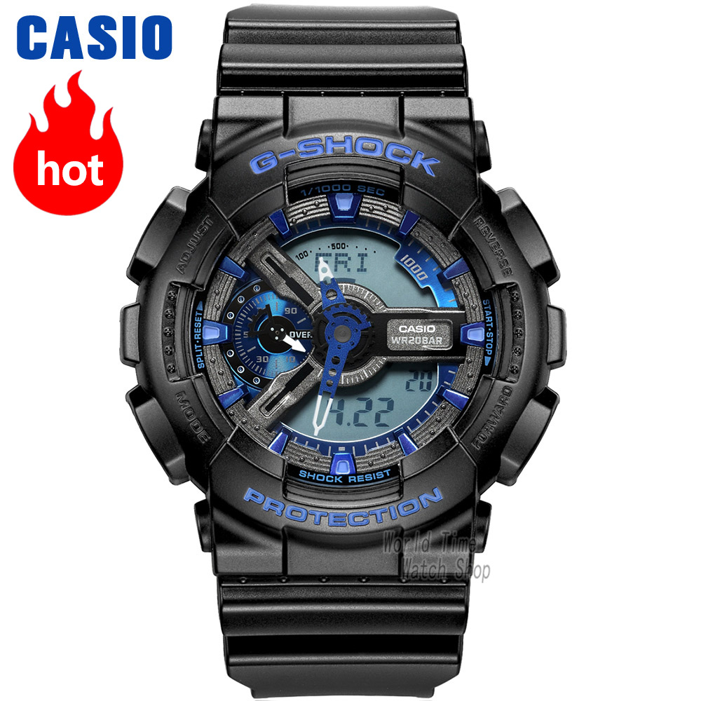 Casio watch G-SHOCK Men's quartz sports watch shockproof double display waterproof g shock Watch GA-110