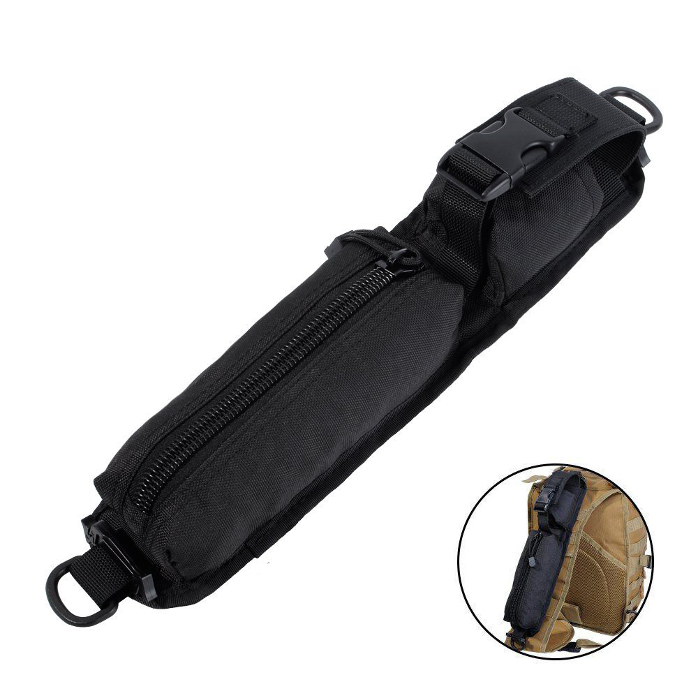 Tactical Molle Backpack Shoulder Strap Pouch Phone Outdoor Sundries Accessory  Bag Tool Bag Airsoft Hunting Flashlight Holster mini kompas sleutelhanger