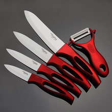 High quality 3″ 4″ 5″ 6″ inch brand Paring Fruit Utility Chef Kitchen Ceramic Knife Sets+ free shipping