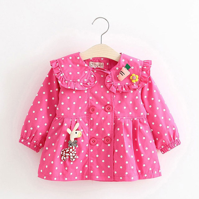 Spring Girl Trench Coats infantil Clothes Children Long Sleeve Fashion Sport Outwear Kids Jackets Girls Cloth outfit Clothing