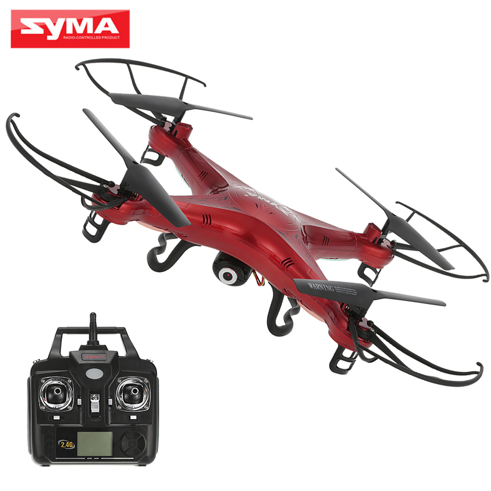 SYMA X5C 2MP HD Camera Drone FPV Helicopter 2 4GHz 4CH 6Axis Gyro RC Quadcopter with