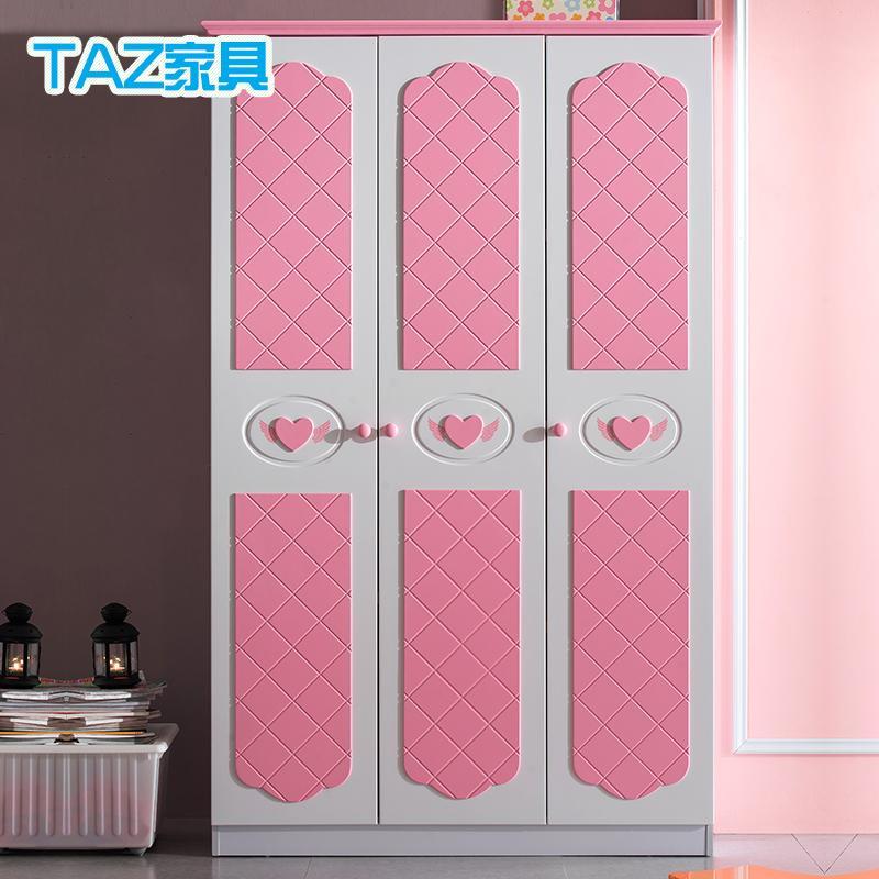 children s bedroom furniture princess wardrobe closet wardrobe whole wardrobe large capacity three 730