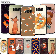 Fox Animal Soft TPU phone cover case for Samsung