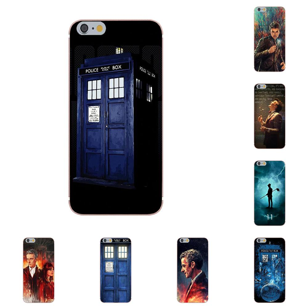 Cellphones & Telecommunications Binyeae Tardis Box Doctor Who Clear Cell Phone Case Cover For Apple Iphone X 6 6s 7 8 Plus 4 4s 5 5s Se 5c Elegant In Style