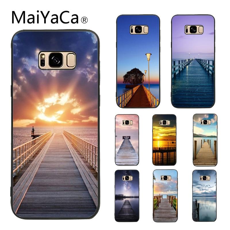MaiYaCa Riverside Pier Новая коллекция Высокое качество Роскошный телефон чехол для samsung Galaxy S8 плюс S9 плюс