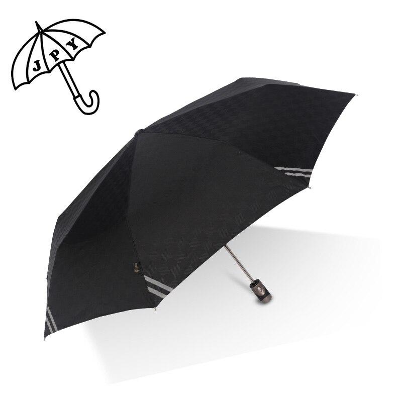 Super velký plně automatický déšťový deštník Světelný muž - Výrobky pro domácnost