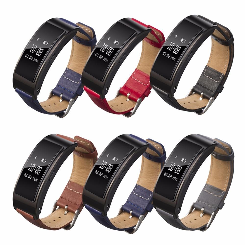 все цены на Sport Leather strap For Huawei Honor Band 3 Bracelet wristbands Watchband belt smart watch Accessories онлайн