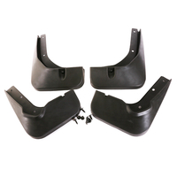 JEAZEA Black Mud Flap Flaps Splash Guards Mudguard Mudflaps Fenders Screws For Passat B5 2011 2012