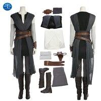 ManLuYunXiao New Star Wars 8 Cosplay Costume Rey Costume Adult Dress Women Halloween Costume For Women