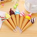 Cute Kawaii Plastic Ballpoint Pens Creative Ice Cream Ball Pen Caneta Novelty Item Gifts for kids Students Korean Stationery