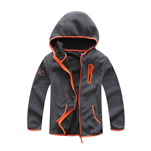 Новый демисезонный детские куртки пальто для мальчиков Мода обувь для мальчиков Дети флис куртки верхняя одежда Высокое качество fit Большой
