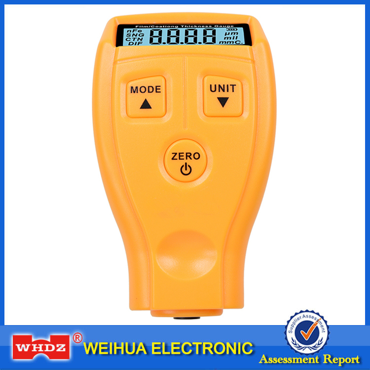 WHDZ GM200 Ultrasonic Film Coating Mini Thickness Gauge Tester Car Coating Thickness measure Paint Thickness Gauge Tester Meter
