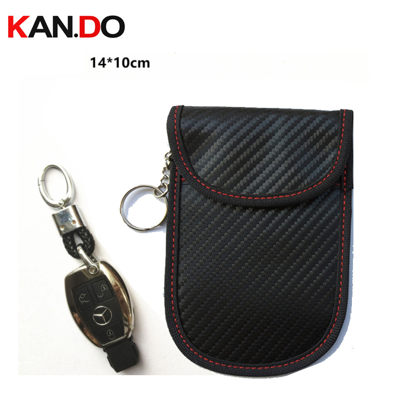 14x10cm <font><b>car</b></font> key <font><b>jammer</b></font> bag Card Anti-Scan Sleeve bag phone signal blocker protection <font><b>jammer</b></font> <font><b>remote</b></font> <font><b>car</b></font> key <font><b>jammer</b></font> bag image
