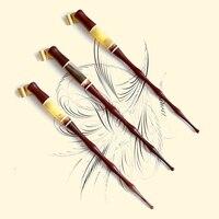 100 Pieces Per Lot Handmade Solid Wood Copperplate Script Antique Oblique Dip Pen Holder Best Gift