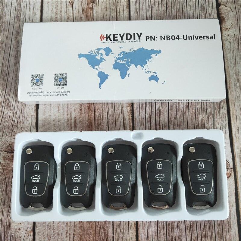 5 PCS/LOT universel KEYDIY NB série 3 bouton télécommande télécommande NB04 pour KD900 KD900 + URG200 KD-X2 programmeur de clé