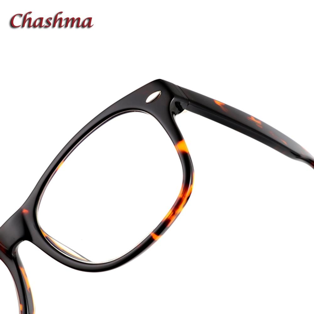 Chashma Brand Acetate Eyewear High Diopter Use Men Eye Glasses Frames Optical Glasses Tortoise Fashion Designer Frame Women in Men 39 s Eyewear Frames from Apparel Accessories