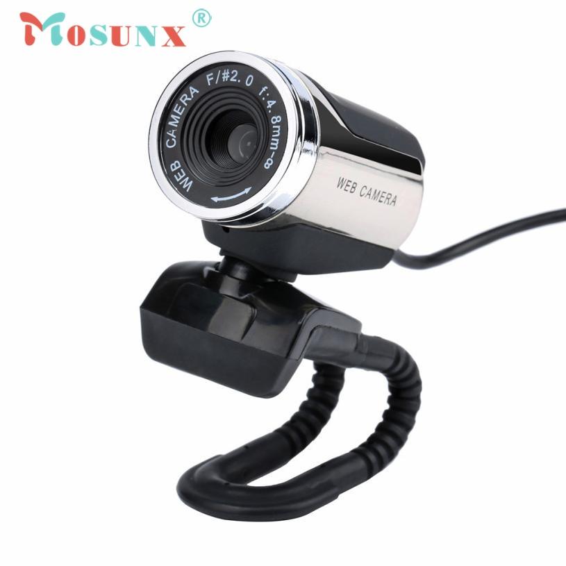 Веб-камера USB 2.0 HD Камера веб-С микрофоном MIC светодиодный для портативных ПК Камара веб-доставка подарок 17aug15