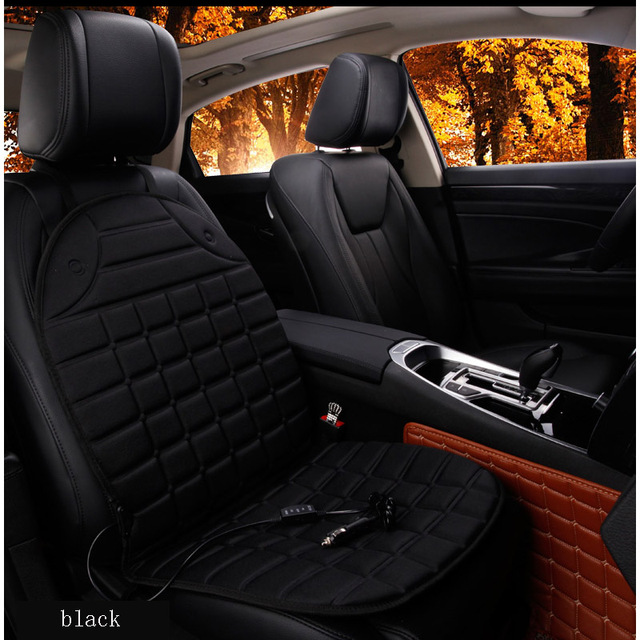 Universal 12V Winter Seat Covers Car Intelligent Electric Heated Cushion Auto Keep Warm