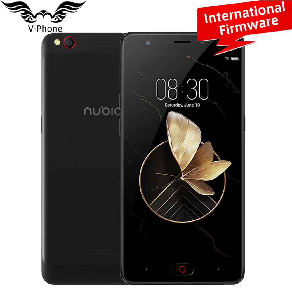 Global Firmware ZTE Nubia M2 Play 4G LTE Mobile 3GB RAM 32GB ROM MSM8940 Octa Core