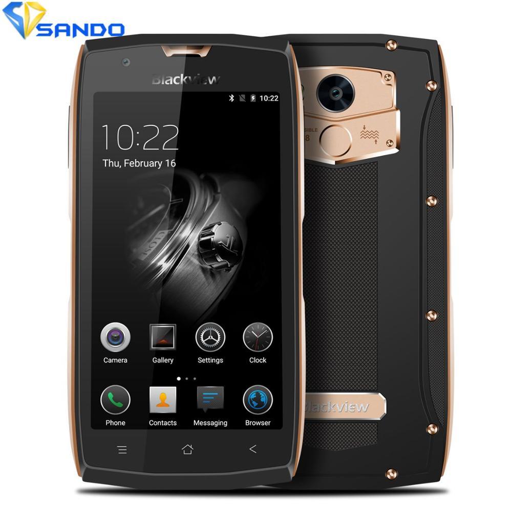 Blackview BV7000 Pro Rugged Mobile Phone IP68 Waterproof 5 FHD MT6750T Octa Core 4G 64G Fingerprint