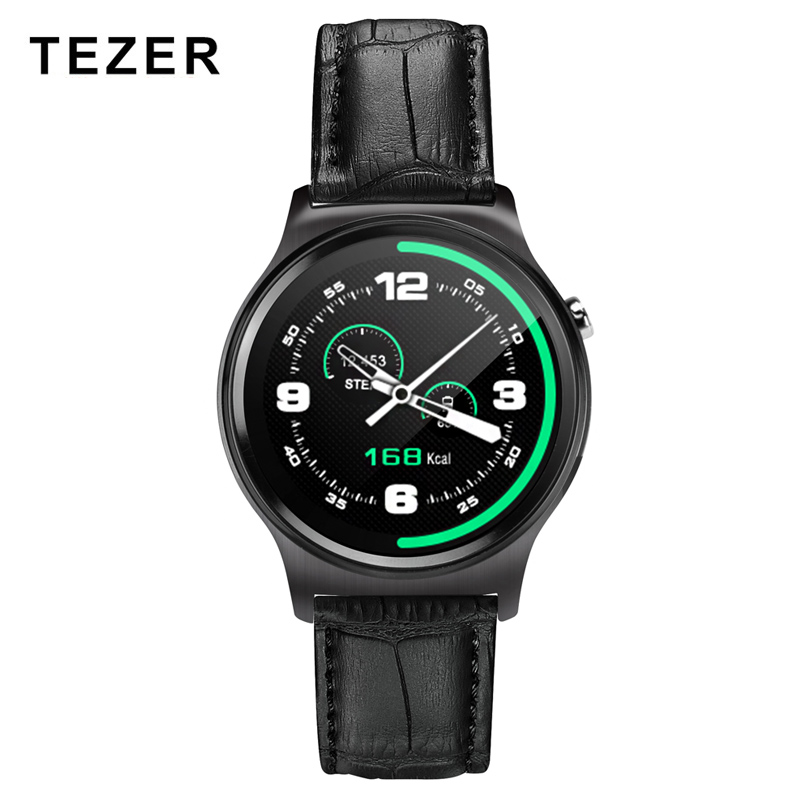 TEZER GW01 Bluetooth Inteligente Electronic Heart rate monitor Smart watch For Ios Android Phones Support Multi languages Reloj