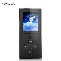SCOMAS Mini 1.8 LCD MP3 HIHI Music Player với Thẻ TF khe FM Radio Voice Recorder AMV Video Cung Cấp Điện USB MP3 người chơi