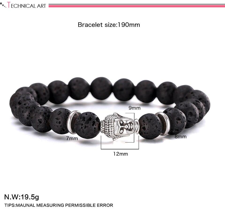 Pulseiras Trendy Bracelet Men Top Design Fashion Bracelet Boys Charm Unique Antique Strand Bracelet 2018 Hot Sell Pulsera Hombre 1