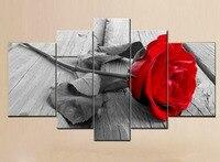 5 шт./компл. алмазов картина роза цветы 5D DIY Алмаз Вышивка украшения дома Рукоделие фотографии полный квадратный dirll Триптих