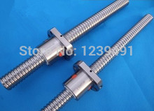цены 1pc SFU2005 ball screw L350mm +1pc 2005 ball nut without end machined CNC parts