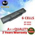 6 células bateria para MITAC BP-8050 8050 BP-8666 BENQ A32 A32E A33 R31 R41Series