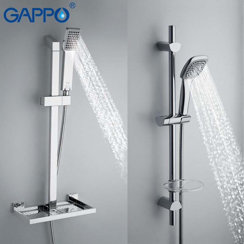 GAPPO shower Slide Bars extension shower bathroom Shower rail slide ...