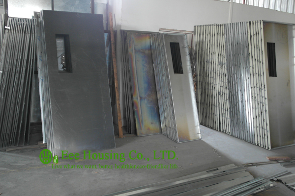 Steel Commercial Exit Fire Retardant DoorsCommercial Steel DoorsHollow Metal Doors & Commercial Steel fire doors With Glass Vision 60 Minutes Fire ... pezcame.com