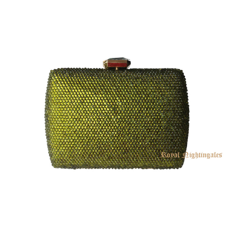 ФОТО Delicate evening box clutch bag purse wallets Purses With Rhinestones Crystal Evening Clutch Bags